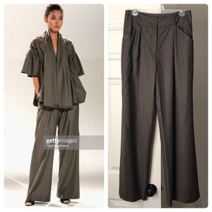 Doo.Ri Wide Leg Pleated Trouser Pants